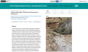 New Release: Inorganic Becomings: Situating the Anthropocene in Puchuncavi
